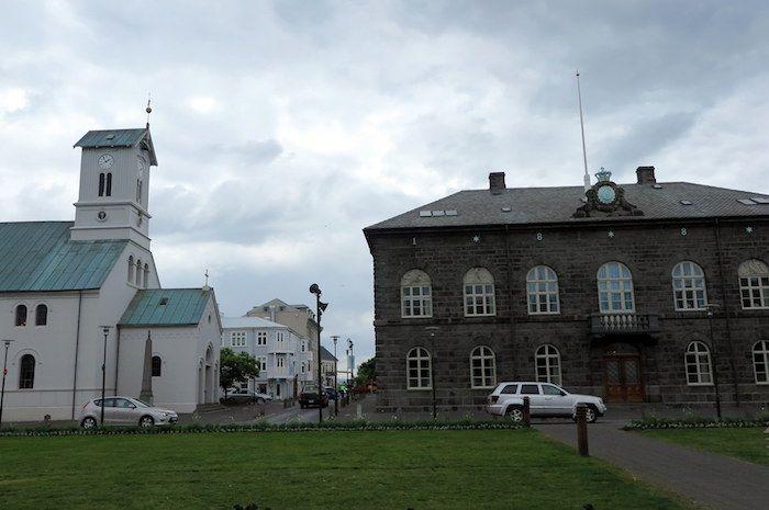 アイスランドの首都レイキャヴィク