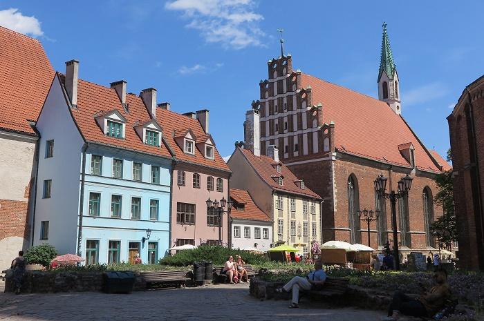 ハンザ同盟時代のドイツ風の街並み