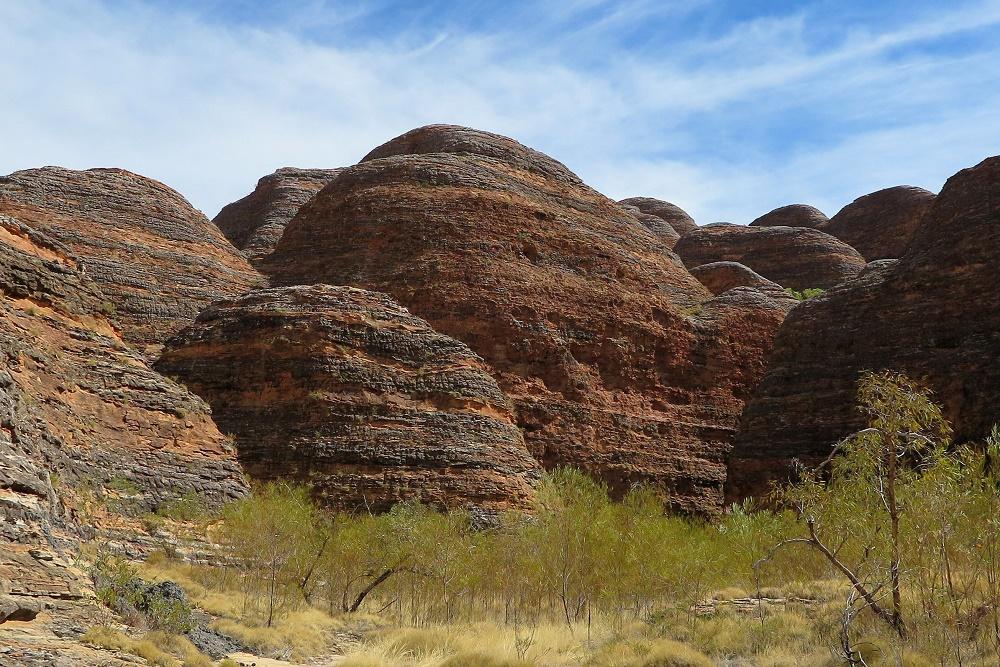 ドーム型の奇岩群と神秘的なカテドラル・ゴージ