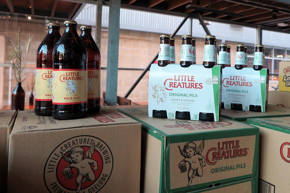 人気の地ビール「リトル・クリーチャーズ」