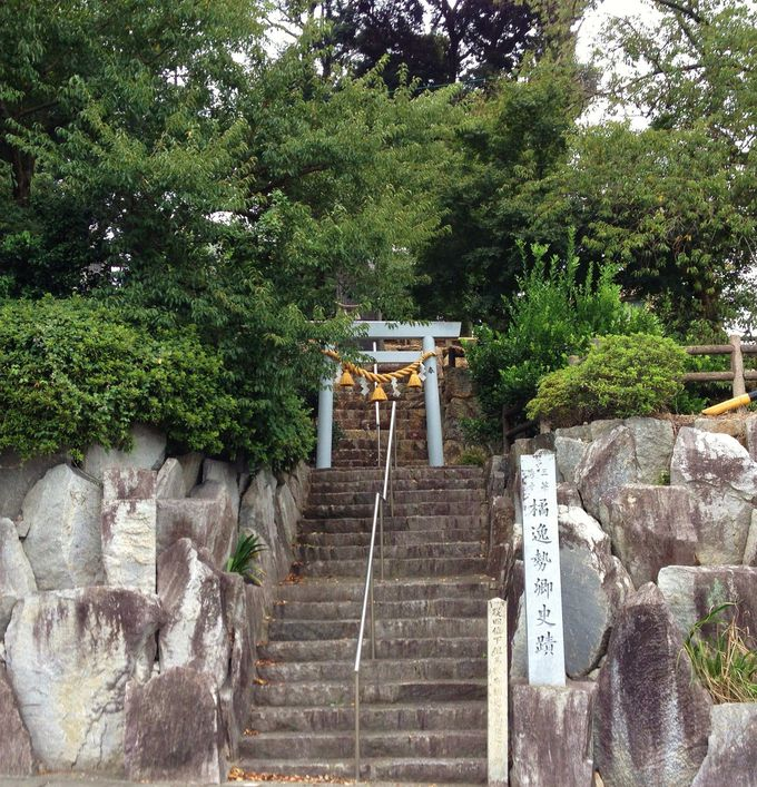 7.橘逸勢神社
