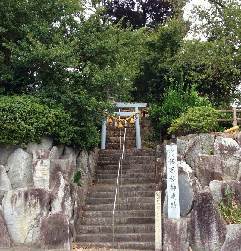 静岡・浜松「橘逸勢神社」は三筆の一人・橘逸勢を祀る寺院