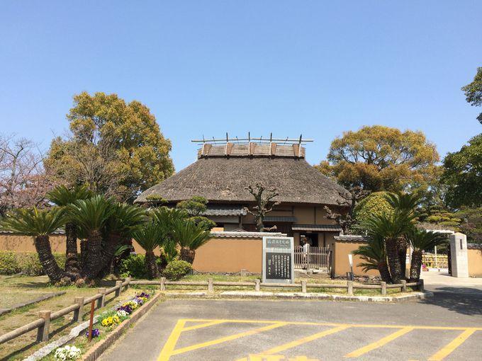 当時の生活が想起される「福澤諭吉旧宅」