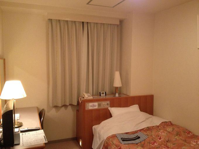 シングルの客室は海側と山側の2種類