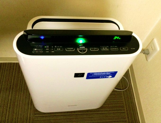 「加湿機能付き空気清浄機」で部屋の空気を最適な状態に