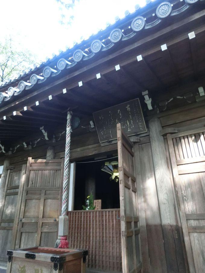 京都市指定有形文化財の「長楽寺本堂」の構造