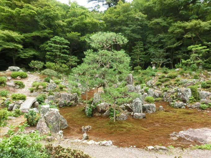 名勝「青岸寺」庭園の特徴
