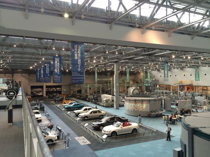 「トヨタ産業技術記念館」モノづくりの楽しさを