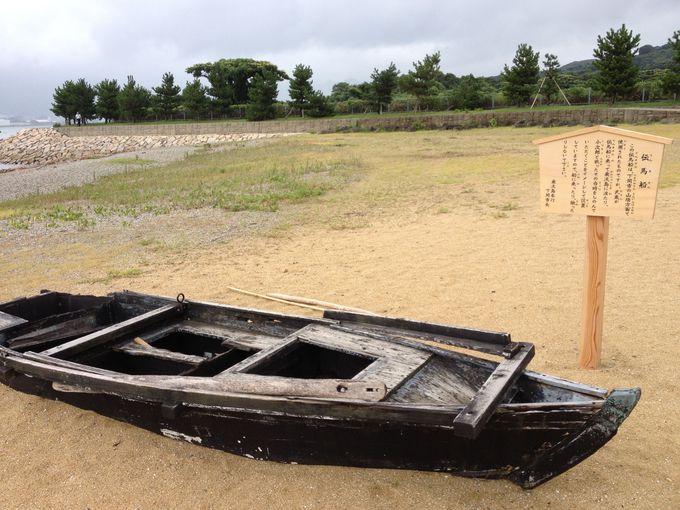 「伝馬船」と「必勝タヌキ」