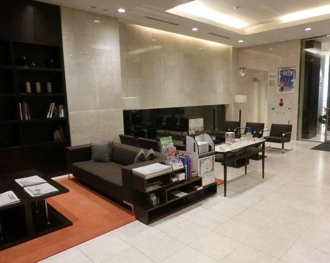 宿泊者への充実したサポート体制が整った「モンテインホテル」