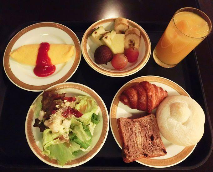 岩手の豊かな食材が使用された朝食ブッフェ