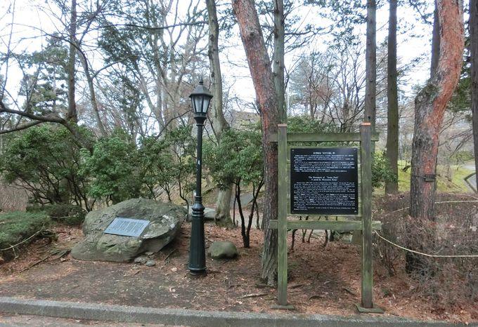 岩手公園にある宮沢賢治「岩手公園」の詩碑