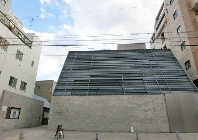 旧居「観潮楼」跡地・文京区立「森鴎外記念館」
