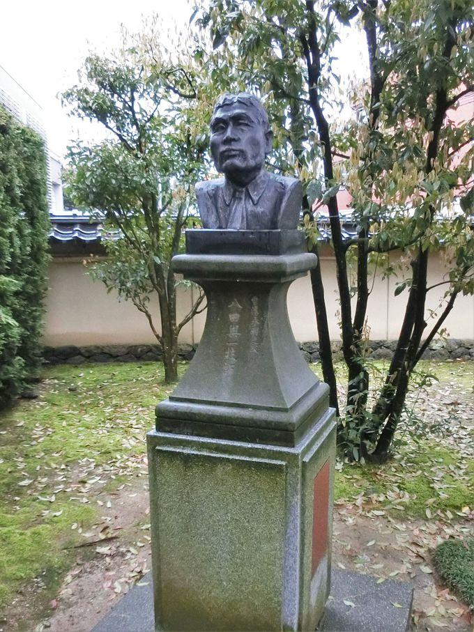 台湾の台地を潤した男・八田與一の胸像