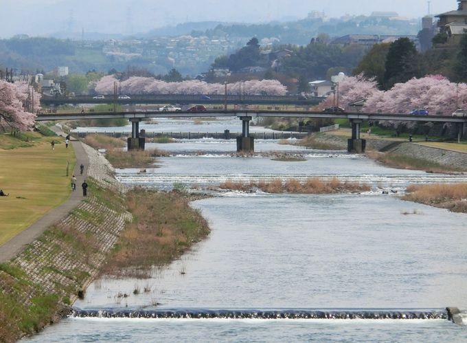 犀川「うつくしき川は流れたり/そのほとりに我は住みぬ」