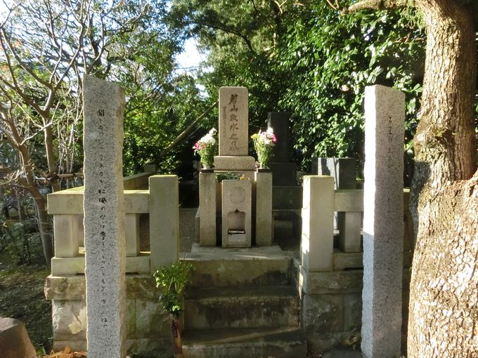 旅と酒、そして沼津を愛した歌人・若山牧水の墓
