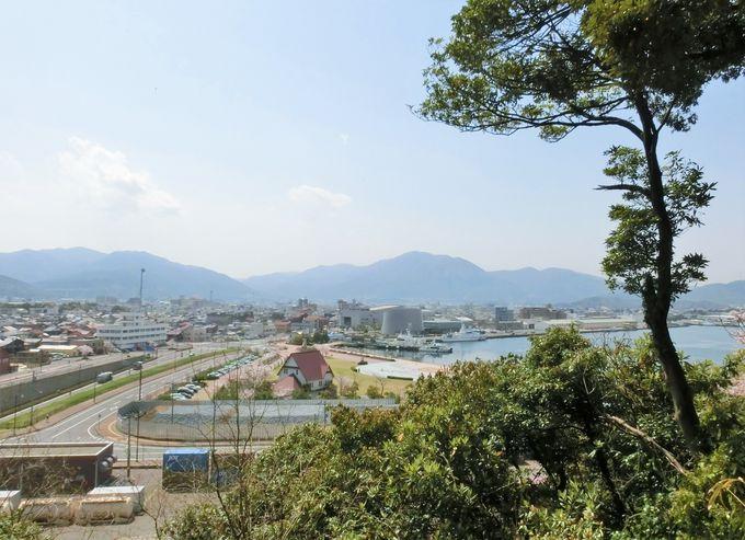 7.金ヶ崎城跡