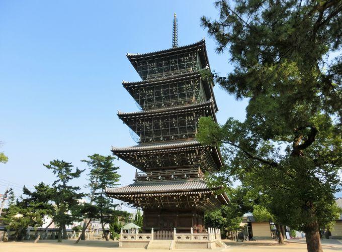 9.空海の生誕地「善通寺」は四国八十八ヶ所の第75番札所