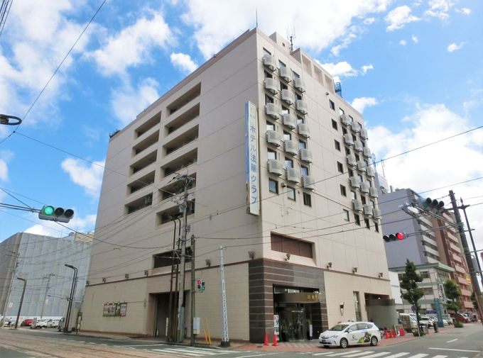 「ホテル法華クラブ熊本」へのアクセス