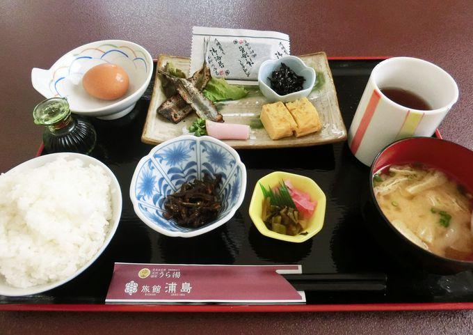 こだわりのお米と朝食の和定食