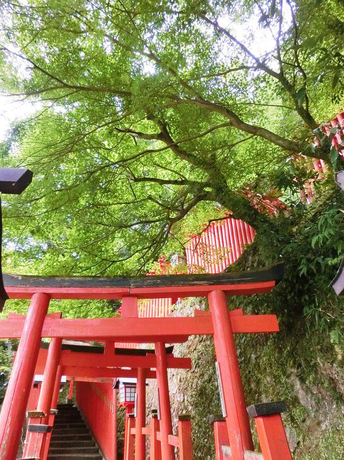 「太皷谷稲成神社」の歴史と伝説