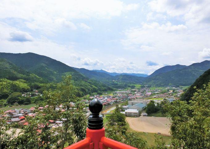 山陰の小京都・津和野の景観を一望!