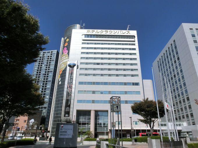 「ホテルクラウンパレス浜松」へのアクセス