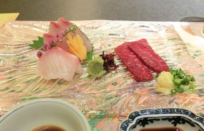日本料理「千羽鶴」で懐石料理を堪能