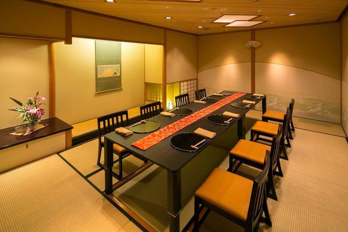 館内には豊富なレストラン