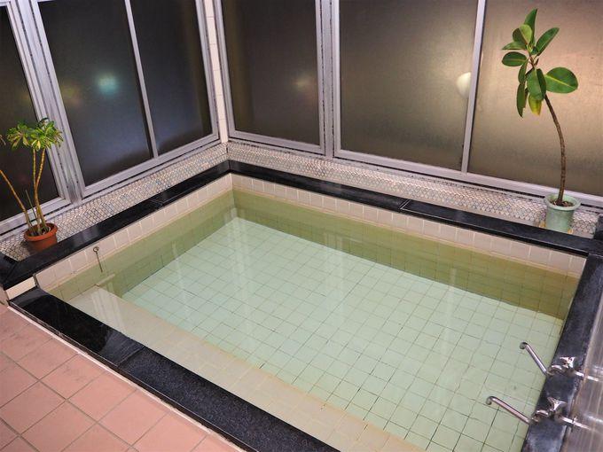 最上階の大浴場