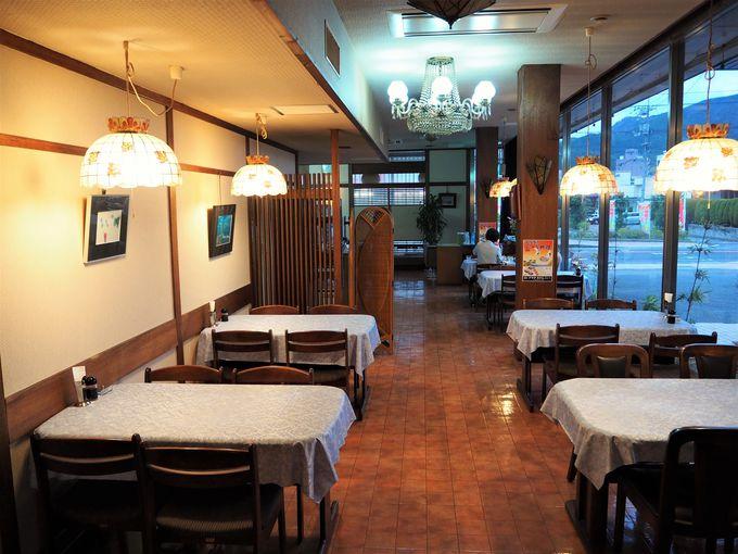 「プラザホテル三瓶」1階のレストラン「アルル」