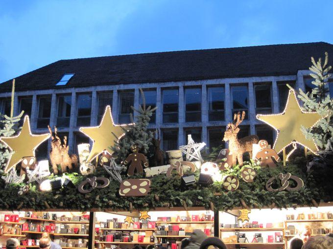 装飾に注目のシュトゥットガルトのクリスマスマーケット