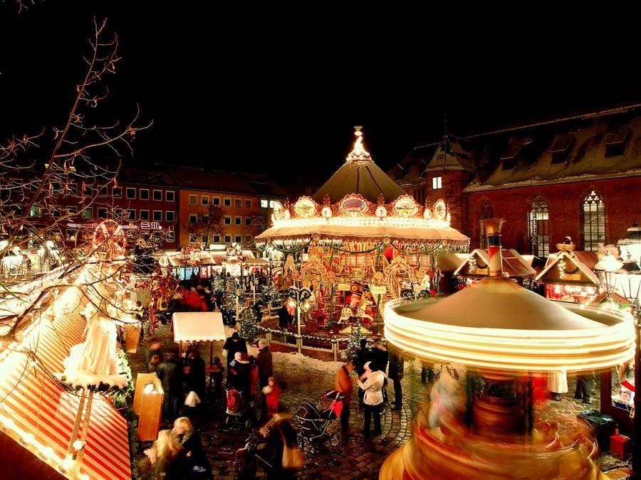 世界一有名なニュルンベルクのクリスマスマーケット