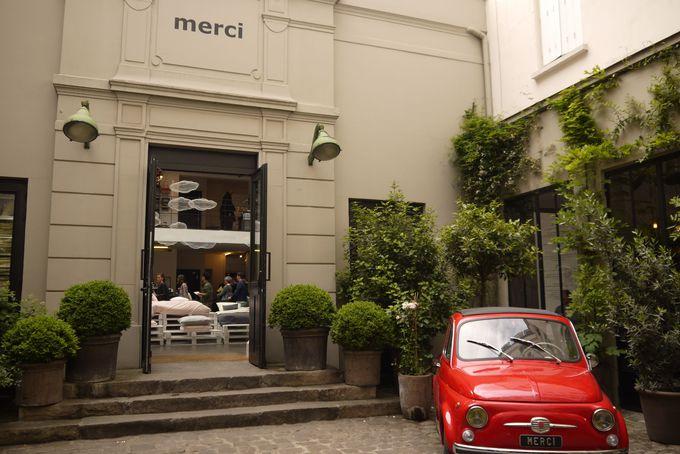 マレ地区観光の最終地点は大人気雑貨店のmerci