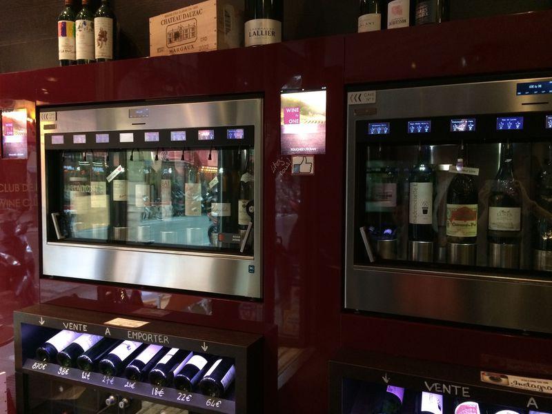 ワインの自販機?パリで手軽に試飲ができるワインバー「WINE by ONE」