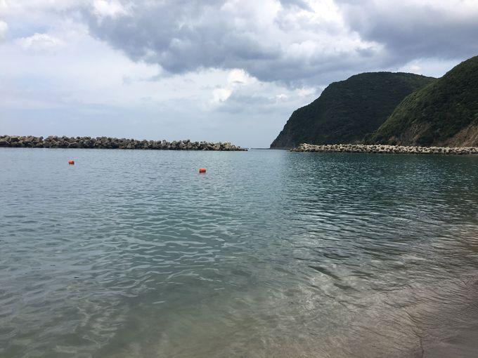 秘境!小茂田浜で海水浴