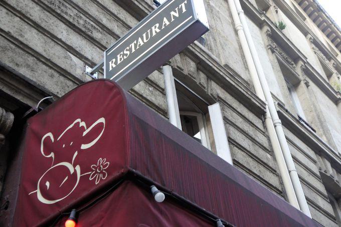 ディナーは超人気有名店「Sacree fleur」で