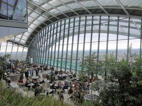 ロンドン「スカイガーデン」絶景を好きなだけ無料で満喫!