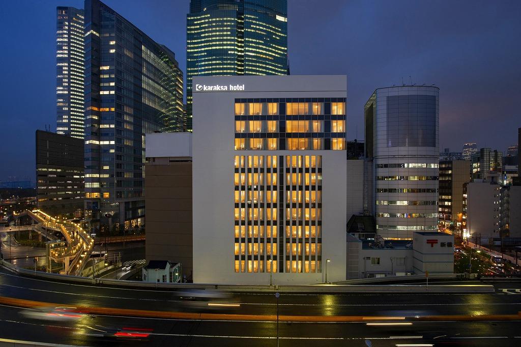 「からくさホテルプレミア東京銀座」でアーバンステイ