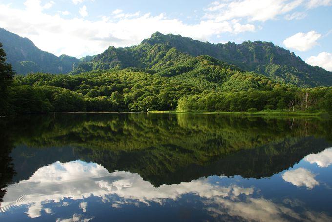 3.鏡池(戸隠高原)