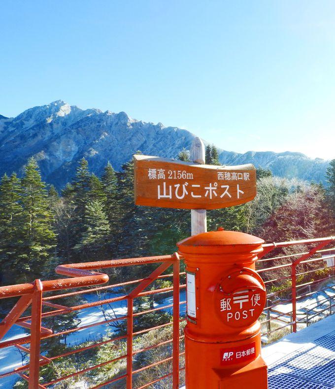 日本一高所にある「山びこポスト」から「はが木」を出す!