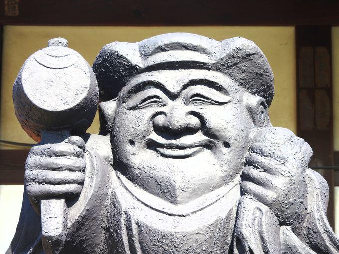 78番寺、福生寺、福相の使者「やけん大黒天像」から福顔パワー!