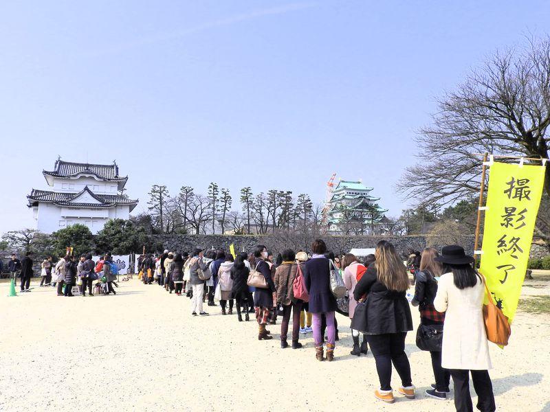 名古屋城が発祥「おもてなし武将隊」に加え、「忍者」も出没