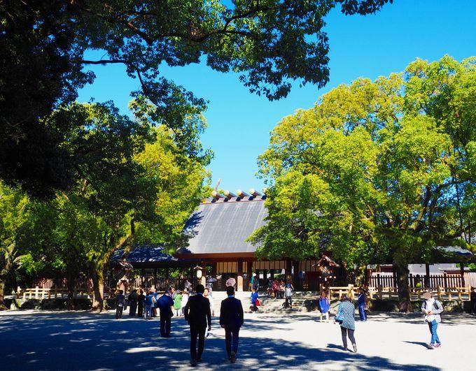 1.「熱田神宮」へ初詣