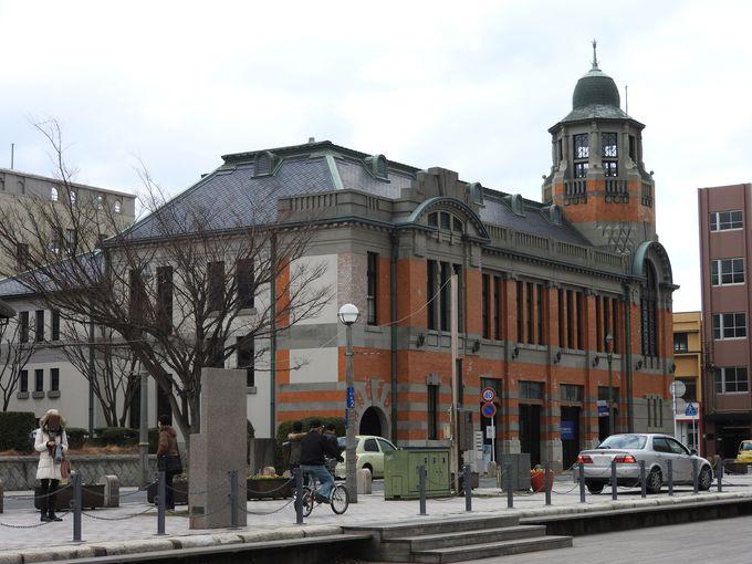 金融や物流の中心としての門司港周辺、旧・大阪商船三井船舶ビル