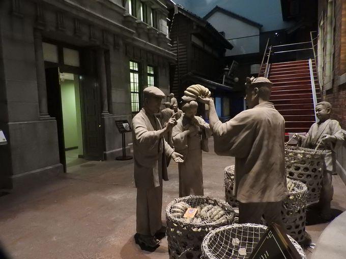 大正時代の門司港の再現資料館、「関門海峡ミュージアム(海峡ドラマシップ)」
