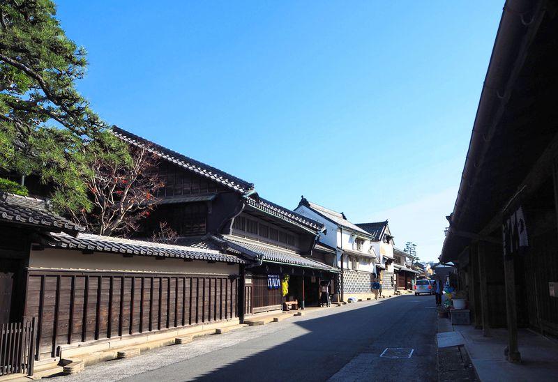 うだつも駕籠も!広重が描いた東海道が残る名古屋「有松」は歴史と絞りの街