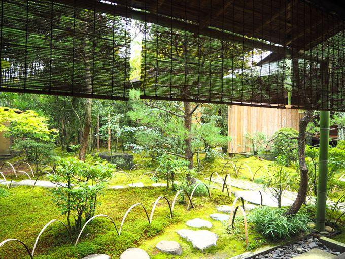 有楽斎が大阪に作った茶室「元庵」の復元された佇まい