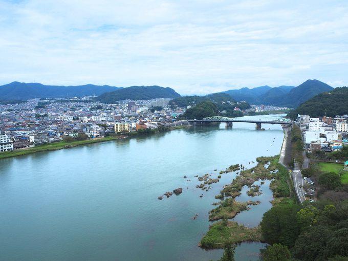 名城国宝犬山城、名古屋まで見渡せる見晴らしは360度絶景!