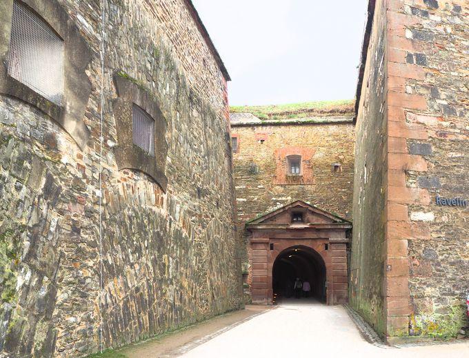 城好き必見!エーレンブライトシュタイン要塞